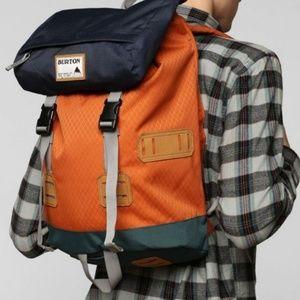 Burton Large Orange Buckle Outdoor Backpack